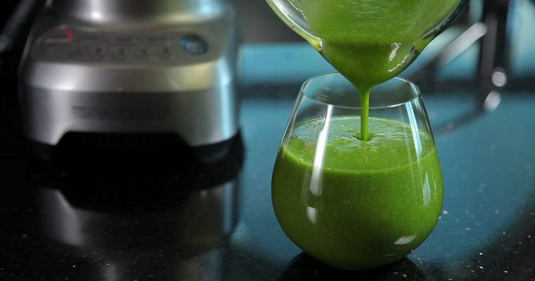 Healthy Detox Vegan Green Smoothie of All-Time