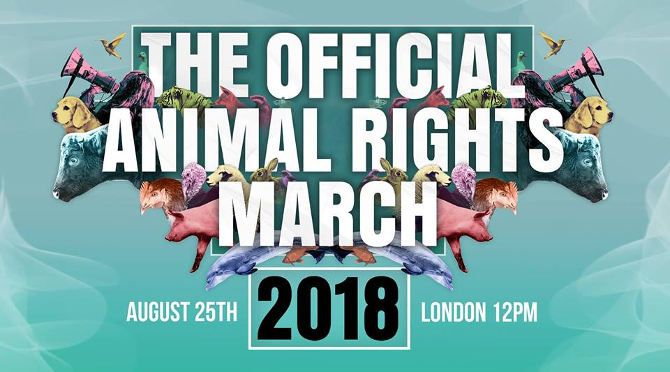 The official animal rights march 2018
