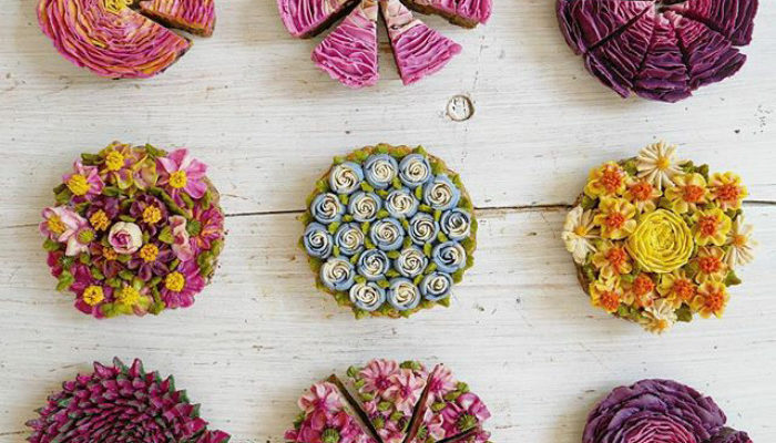 This German Cake  Artist Is Creating The Most Beautiful Raw Vegan Cakes Ever