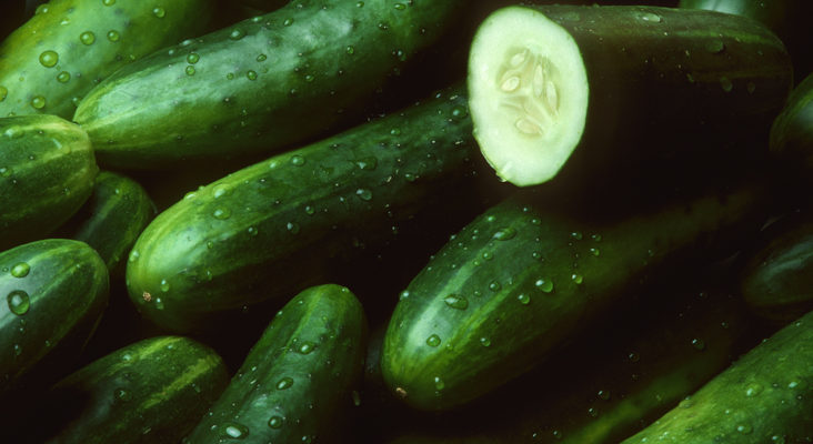 Cucumber for healthy skin and stronger bones