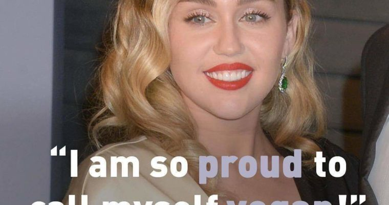 Miley Cyrus Vegan Celebrity
