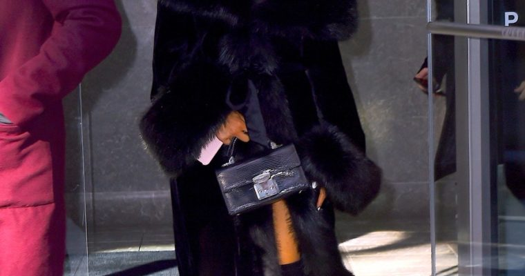 Ariana Grande Is the Latest Celebrity to Embrace Faux Fur