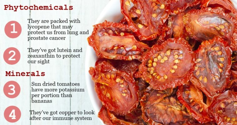 Health Benefits of Sun Dried Tomatoes