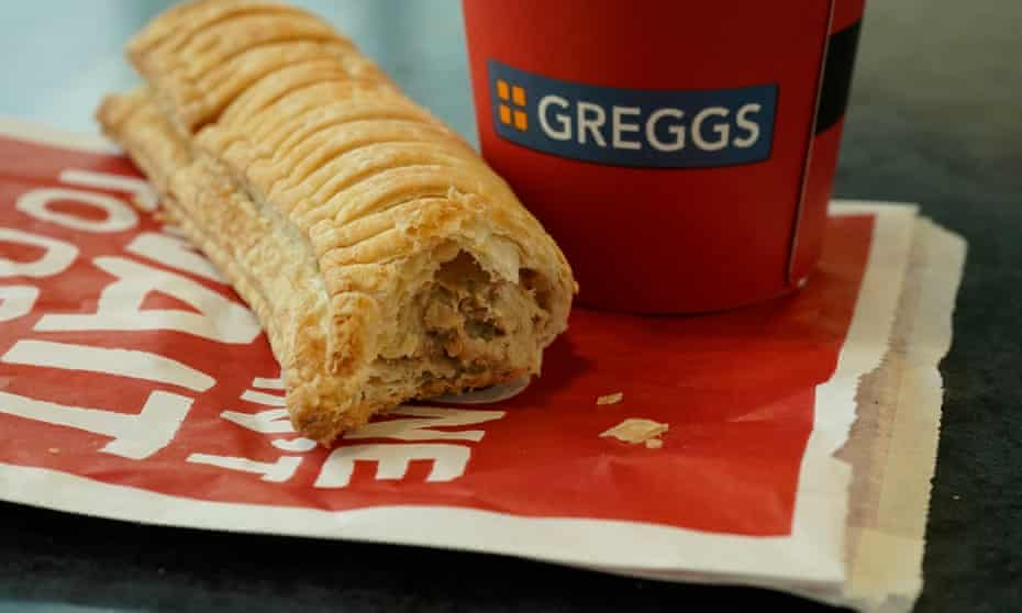 Greggs struggles to keep up with demand for vegan sausage rolls