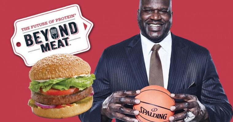 Shaquille O'Neal and 13 Athletes Invest in Vegan Meat