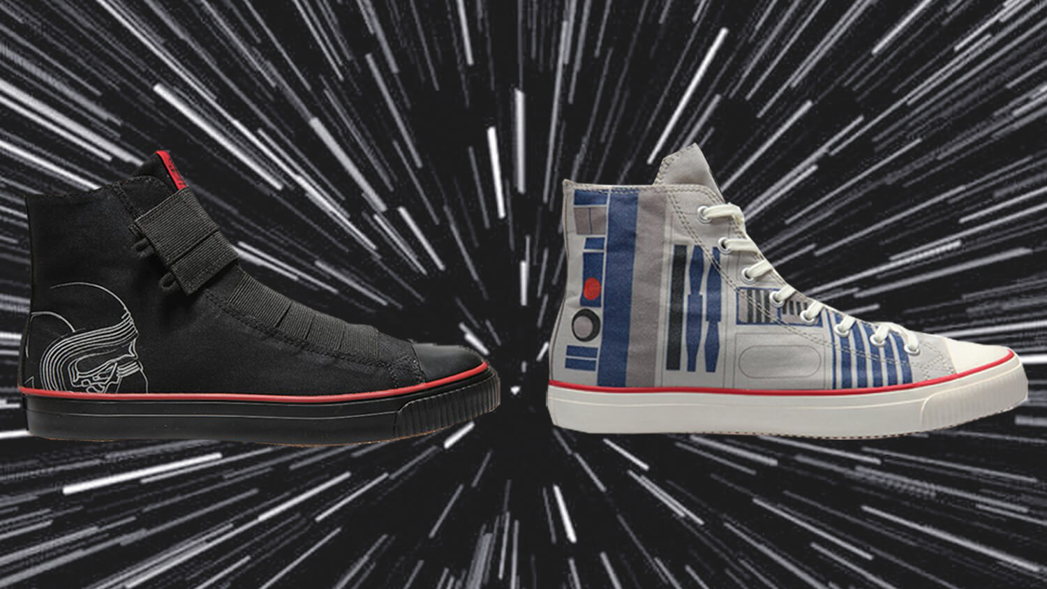 THESE VEGAN STAR WARS SHOES ARE MADE FROM COCONUTS