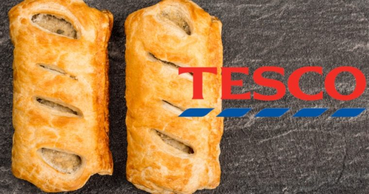 Tesco Launching Ready To Eat Vegan Sausage Roll In Its Bakery